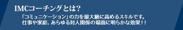 IMC[I式コーチング]とは?